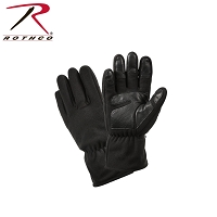 Black Micro Fleece All Weather Gloves Rothco 3470